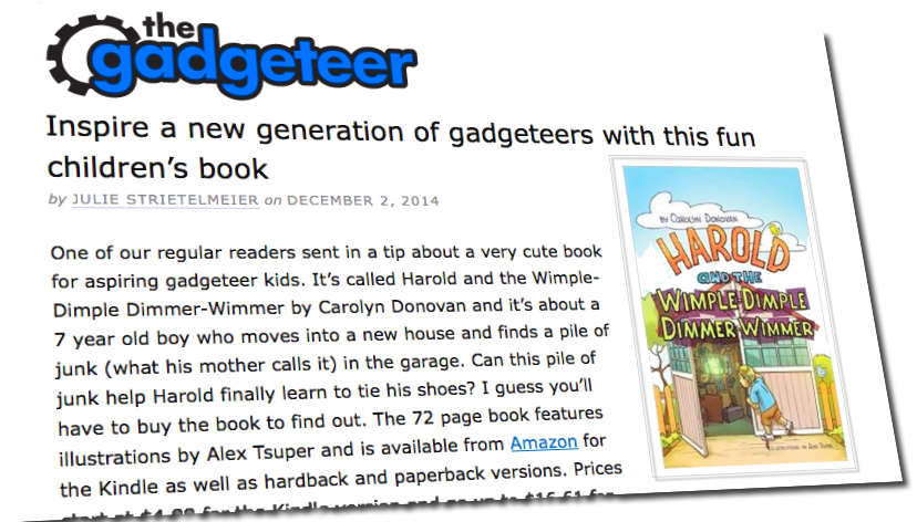 The Gadgeteer likes Harold!